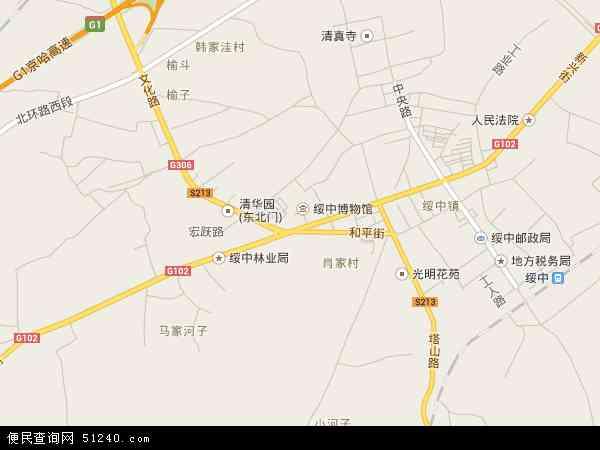 中国辽宁省葫芦岛市绥中县城郊乡地图(卫星地图)