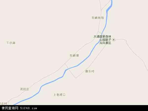 东峡镇高清卫星地图 东峡镇2017年卫星地图 中国青海省西宁市大通图片
