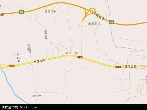 大堡子镇高清卫星地图 大堡子镇2016年卫星地图 中国青海省西宁市图片