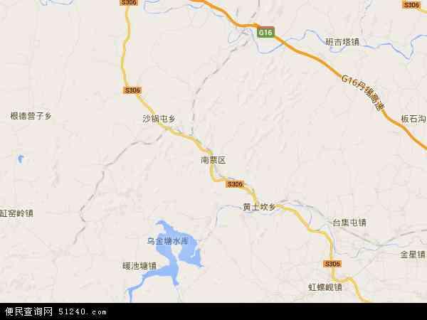 中国辽宁省葫芦岛市南票区大兴乡地图(卫星地图)