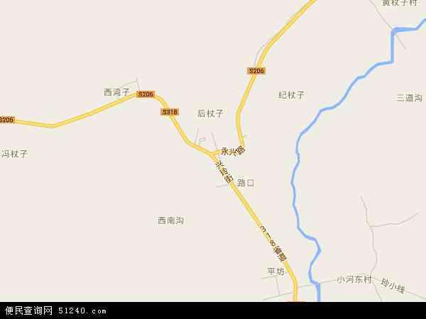 中国辽宁省葫芦岛市建昌县玲珑塔镇地图(卫星地图)