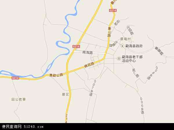 最新勐海镇地图,2016勐海镇地图高清版