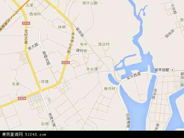 南安市水头镇gdp_南安市水头镇地图