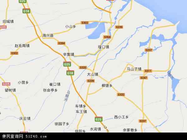 中国山东省滨州市无棣县信阳镇地图(卫星地图)
