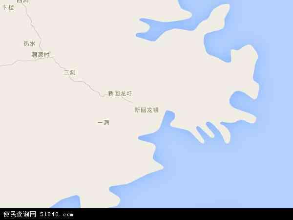 中国广东省河源市东源县新回龙镇地图(卫星地图)