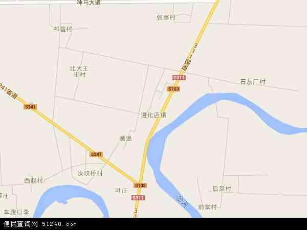 遵化店镇地图 - 遵化店镇卫星地图