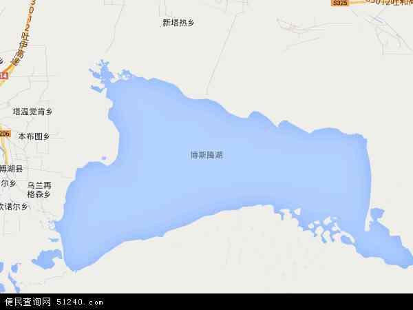 博斯腾湖乡地图 - 博斯腾湖乡电子地图 - 博斯腾湖乡高清地图 - 2017