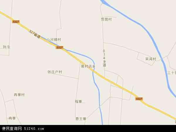 中国河南省开封市杞县裴村店乡地图(卫星地图)图片
