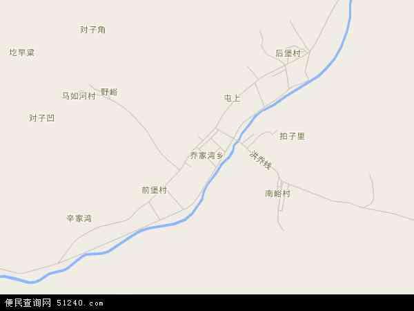 乔家湾乡高清卫星地图 乔家湾乡2016年卫星地图 中国山西省临汾市