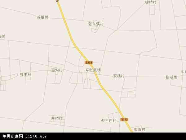 寿张集镇地图 - 寿张集镇卫星地图 - 寿张集镇高