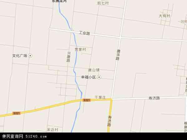 最新唐山镇地图,2016唐山镇地图高清版