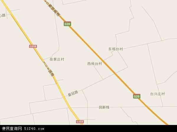 中国河北省石家庄市赵县新寨店镇地图(卫星地图)