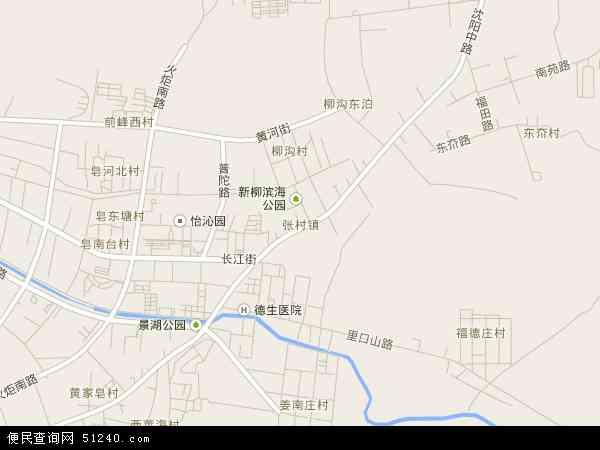 张村镇高清卫星地图 张村镇2016年卫星地图 中国山东省威海市环翠