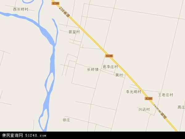 中国河南省平顶山市郏县长桥镇地图(卫星地图)