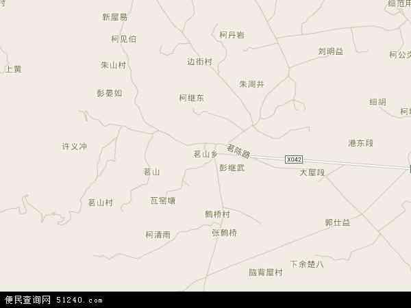 茗山乡地图 - 茗山乡电子地图 - 茗山乡高清地图 - 2018年茗山乡地图