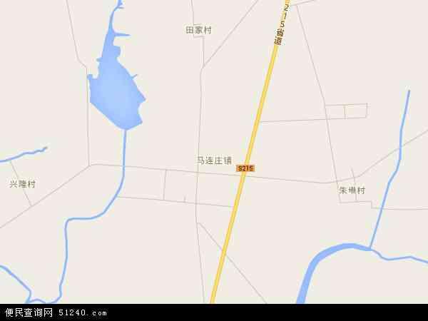 马连庄镇高清卫星航拍地图