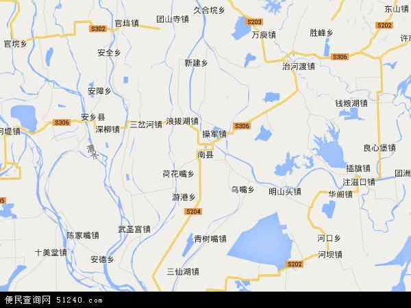 千山红镇地图 - 千山红镇卫星地图