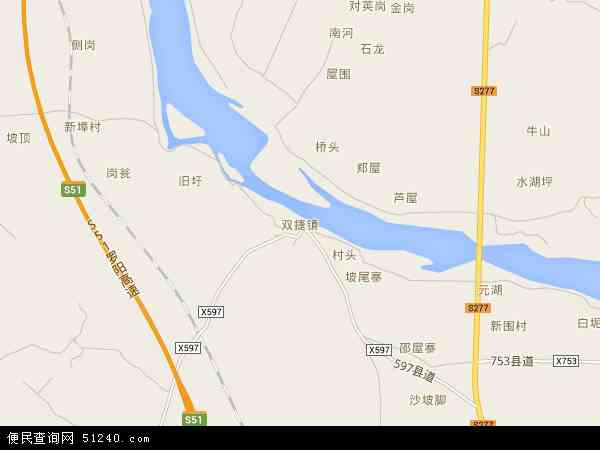 双捷镇地图 双捷镇卫星地图 双捷镇高清航拍地图 双捷镇高清卫星地图