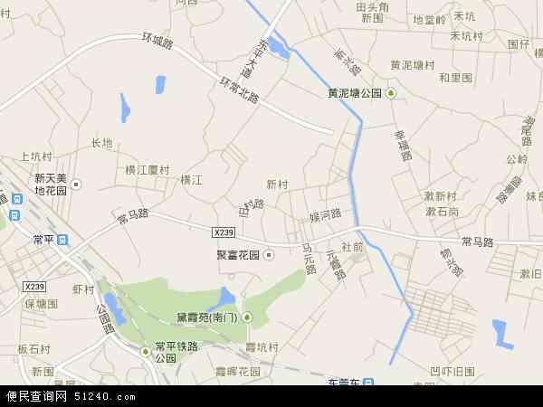 元江元村电子地图