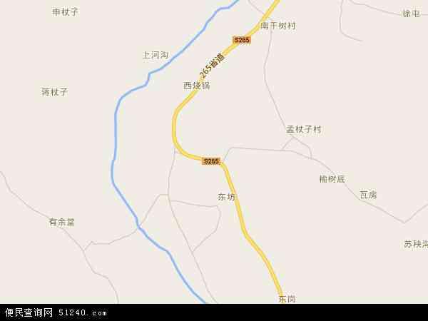 中国河北省秦皇岛市青龙满族自治县龙王庙乡地图(卫星地图)