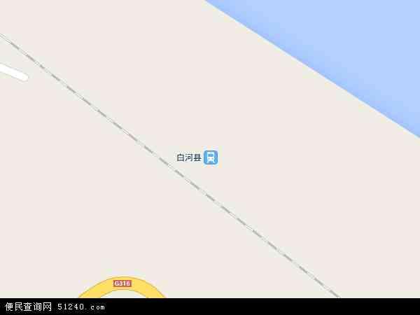 中国陕西省安康市白河县双丰镇地图(卫星地图)