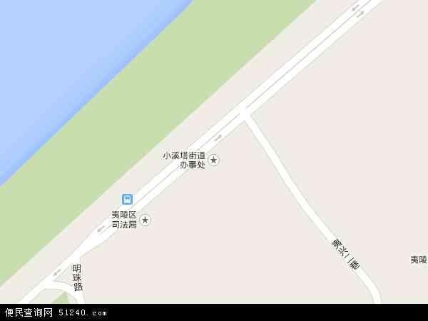 小溪塔街道办高清卫星航拍地图
