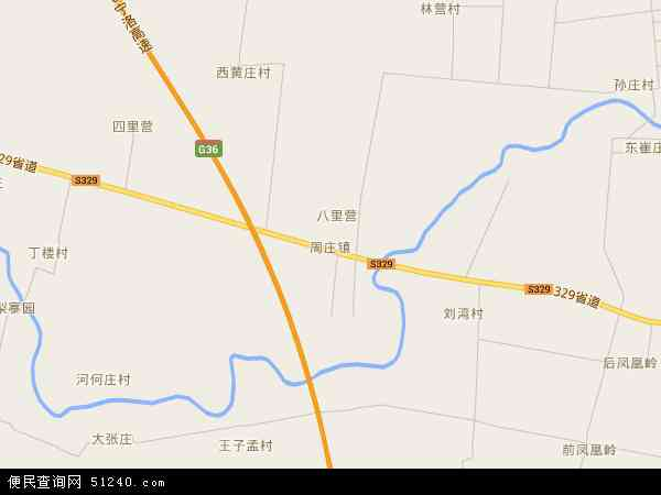 中国河南省平顶山市宝丰县周庄镇地图(卫星地图)