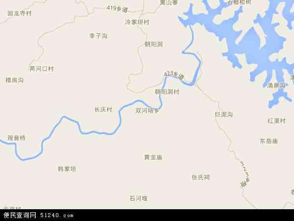 双河场乡高清卫星航拍地图