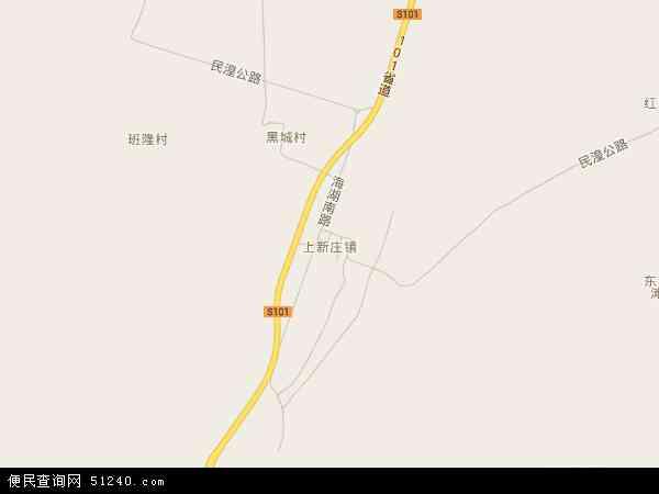 上新庄镇高清卫星地图 上新庄镇2016年卫星地图 中国青海省西宁市图片