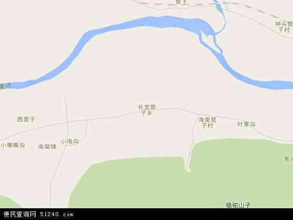 中国辽宁省朝阳市双塔区长宝营子乡地图(卫星地图)