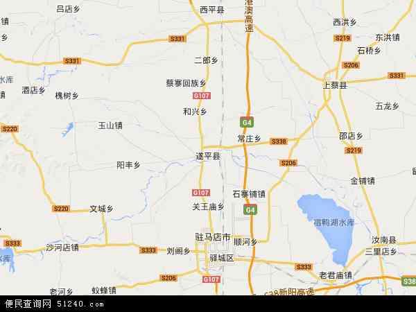 查岈山风景区地图 - 查岈山风景区卫星地图