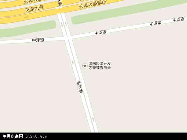 津南开发区东区地图
