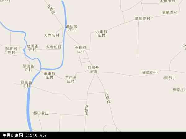 中国河北省秦皇岛市卢龙县刘田各庄镇地图(卫星地图)
