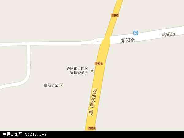 泸州化工园区地图 - 泸州化工园区电子地图 - 泸州化工园区高清地图