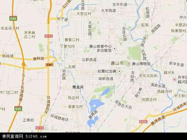 芦台开发区新华路地图