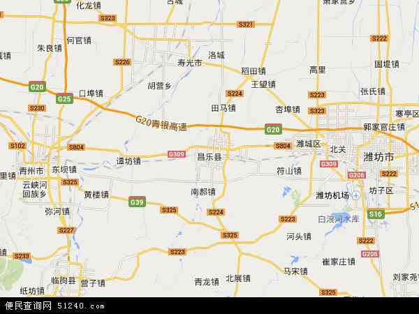 潍坊市经济开发区地图展示