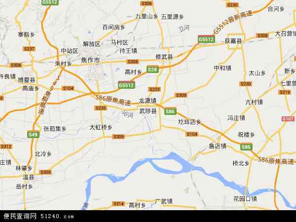 武陟宁郭农场地图 - 武陟宁郭农场卫星地图