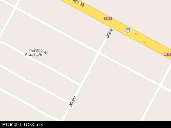 中国天津市宁河县宁河县贸易开发区地图(卫星地图)