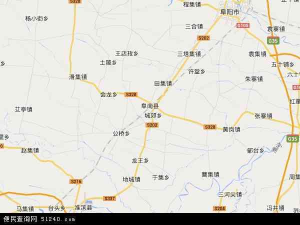 安徽阜南经济开发区地图 - 安徽阜南经济开发区电子地图 - 安徽阜南经