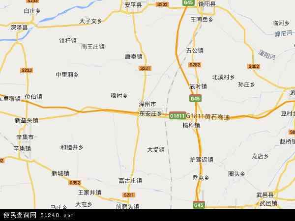 河北省深州监狱地图