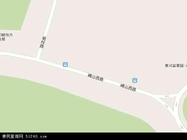 河南三门峡经济开发区电子地图