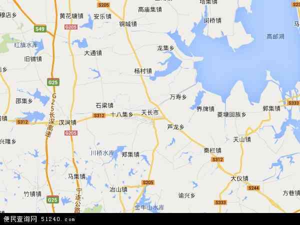 安徽省大圹圩农场地图 - 安徽省大圹圩农场电子地图 - 安徽省大圹圩