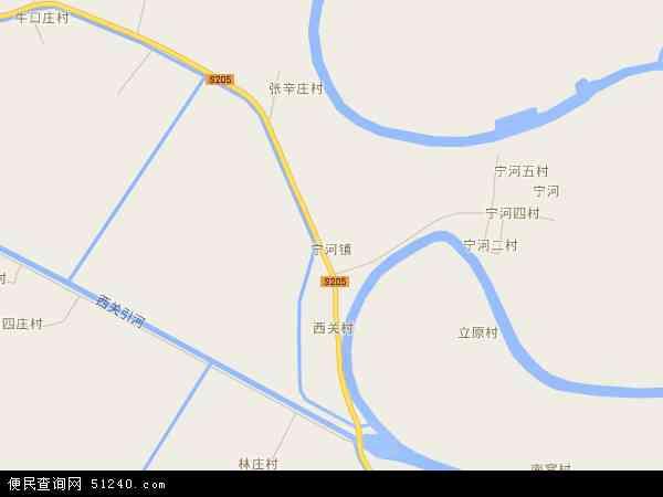 宁河县现代产业园区地图 - 宁河县现代产业园区电子地图 - 宁河县现代