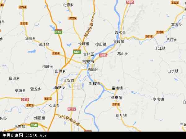 青原区河东经济开发区电子地图