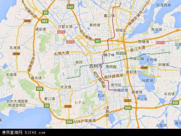 苏州高新区综合保税区高清地图