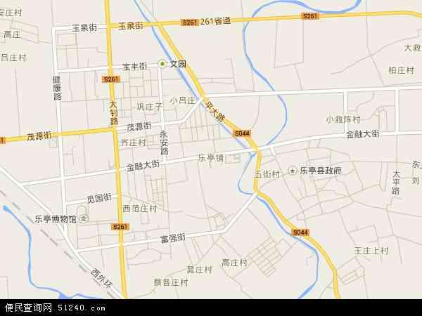 中国河北省唐山市乐亭县乐亭新区临港工业聚集区地图(卫星地图)