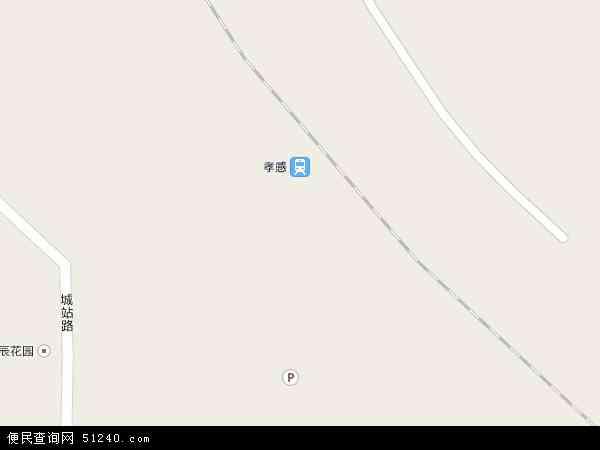 孝感开发区槐荫办事处电子地图