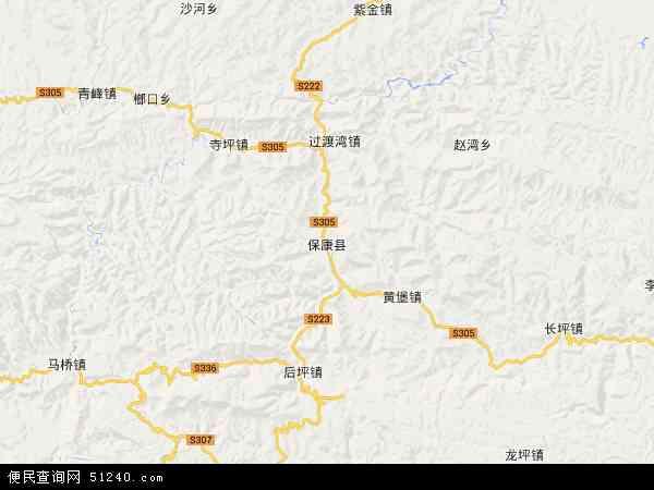 省襄阳市保康县湖北保康经济开发区管理委员会地图