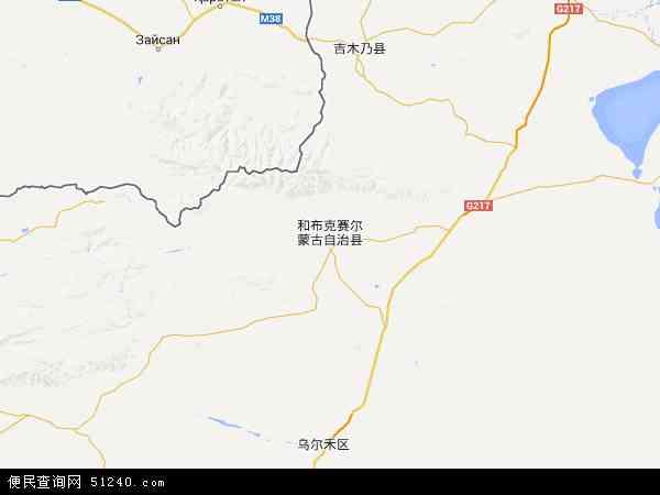 塔城地区 和布克赛尔蒙古自治县