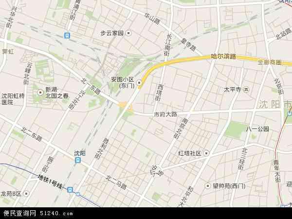西塔地图 - 西塔卫星地图